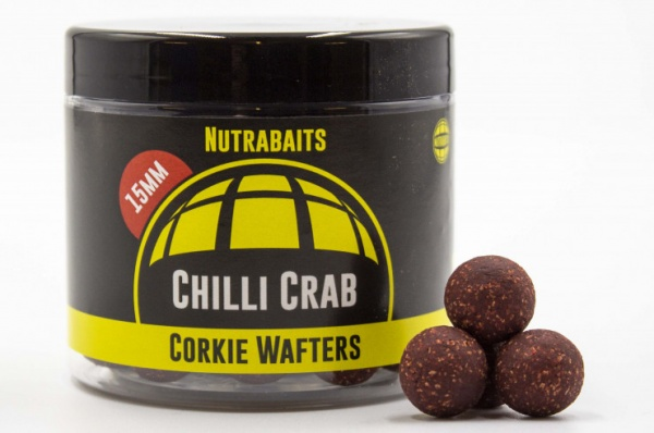 Nutrabaits Chilli Crab 15mm Corkie Wafters