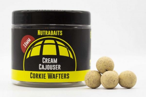 Nutrabaits Cream Cajouser Corkie Wafters 15mm