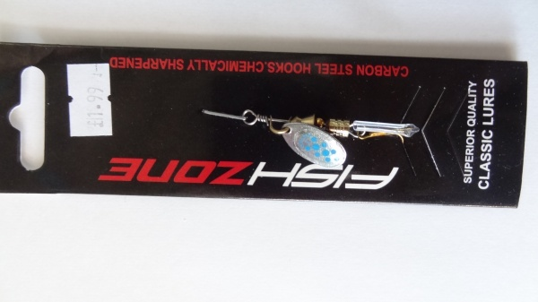 Fish Zone Spinner Orion Size 1