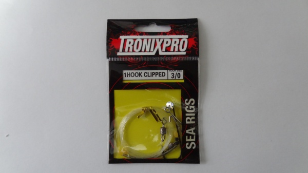 Tronixpro 1 Hook Clipped Hook Size 3 0