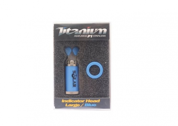 Solar Tackle Titanium P1 Blue Indicator Head Large