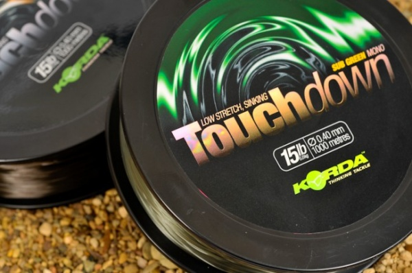 Korda Touchdown 15lb Sub Green Mono1000m 0.40mm