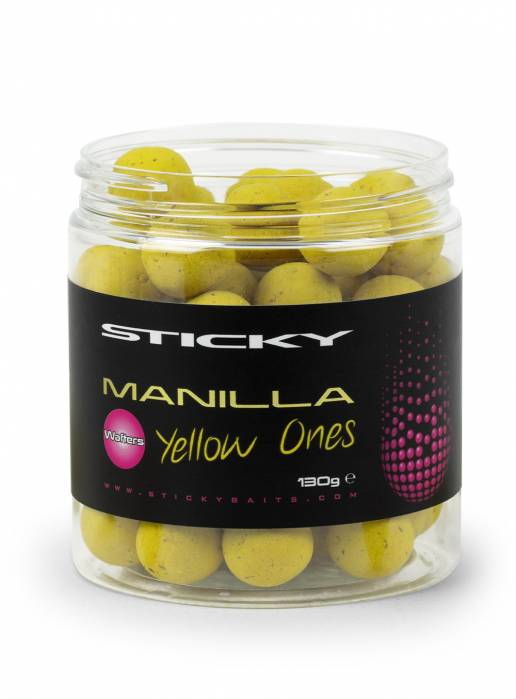 Sticky Baits Manilla Yellow Ones 16mm Wafters
