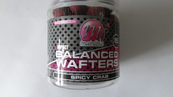 Mainline Baits Hi Impact  Spicy Crab Balanced Wafters