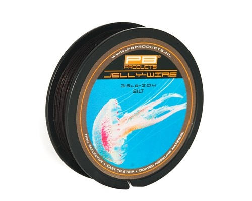 PB Products Jelly Wire 15lb Silt 20m