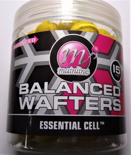 Mainline Baits Balanced Wafters Essential Cell 15mm