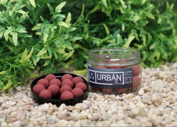 Urban Bait Red Spicy Fish Natural Pop Up 15mm