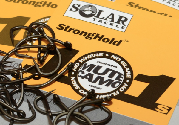 Solar Tackle Stronghold 101 Size 8 Barbed Hooks