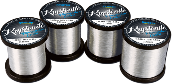 Kryston Krystonite 12lb Fluorocarbon Coated Monofilament 1000m